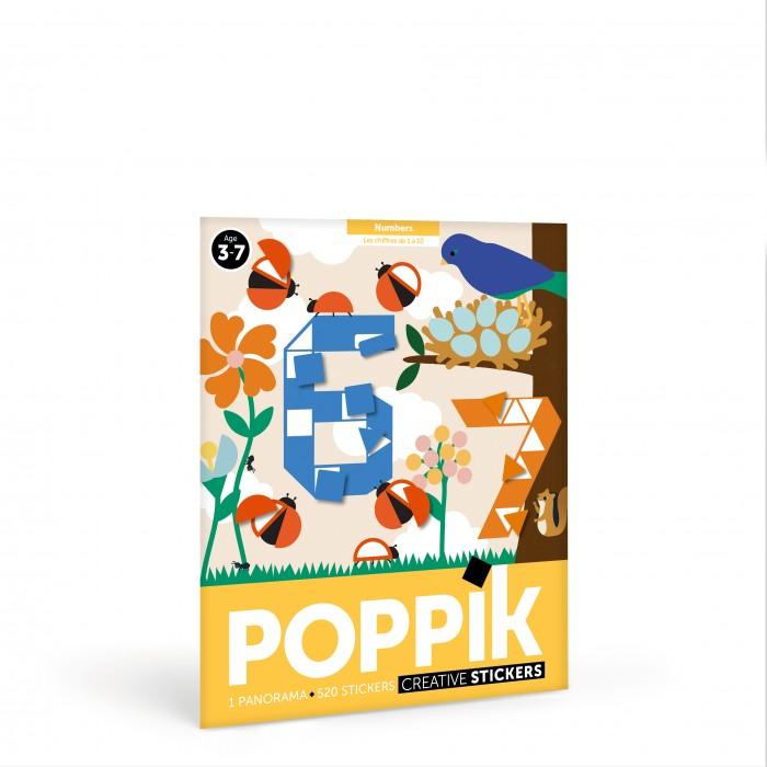 Картинка для PoppiK Стикер мозаика Цифры