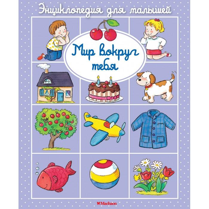 Энциклопедии Махаон Книжка Энциклопедия для малышей Мир вокруг тебя