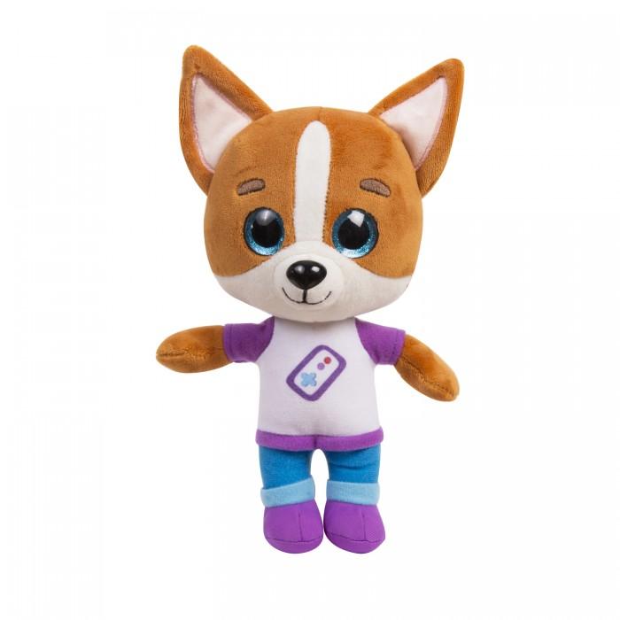 Мягкие игрушки Кошечки-Собачки Дэн со звуком 25 см
