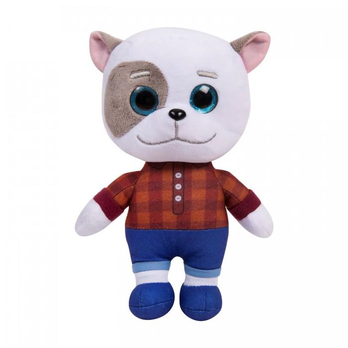 Мягкие игрушки Кошечки-Собачки Жоржик со звуком 25 см