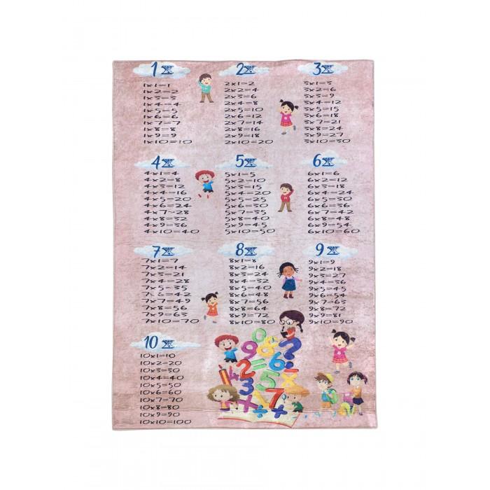 Ковры Клякса Коврик для детской Таблица умножения 150х100 см