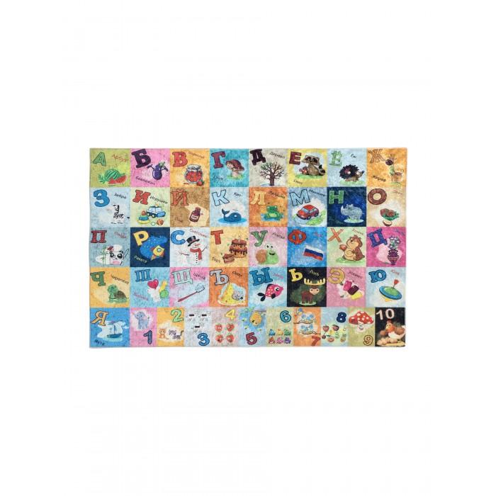 Купить Ковры, Клякса Коврик для детской Алфавит 150х100 см