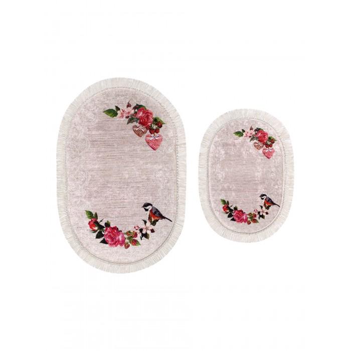 Радуга Набор ковриков для ванной и туалета ТК-0048