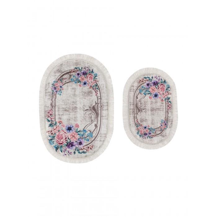 Радуга Набор ковриков для ванной и туалета ТК-0049