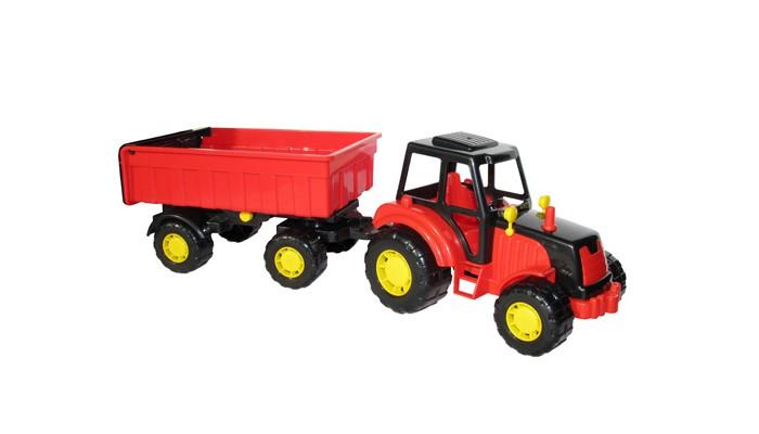 Машины Полесье Трактор Мастер с прицепом-1 35257