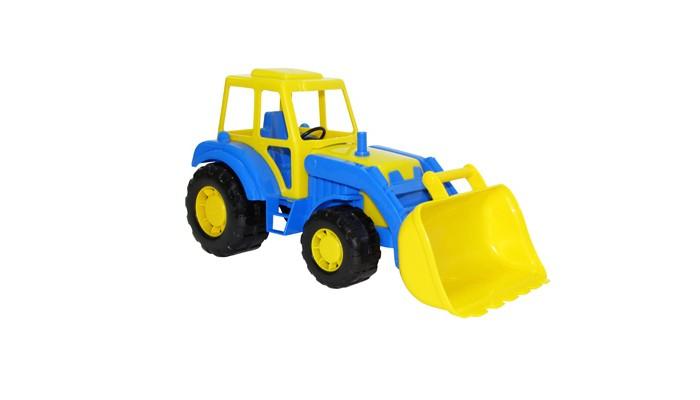Машины Полесье Трактор погрузчик Алтай 35387 машина детская полесье полесье набор автомобиль трейлер трактор погрузчик