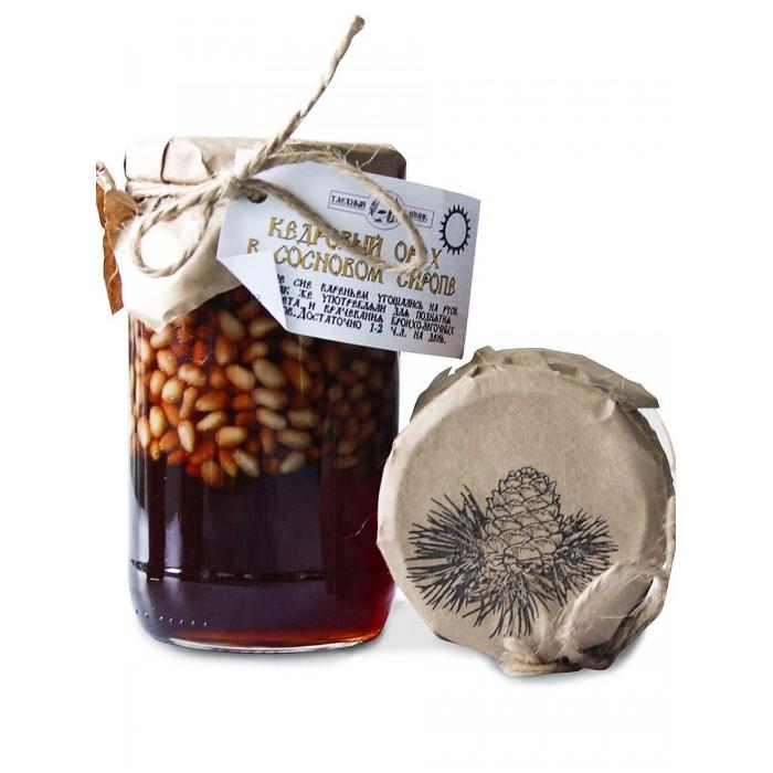 Таёжный Тайник Кедровый орех в сосновом сиропе 420 г