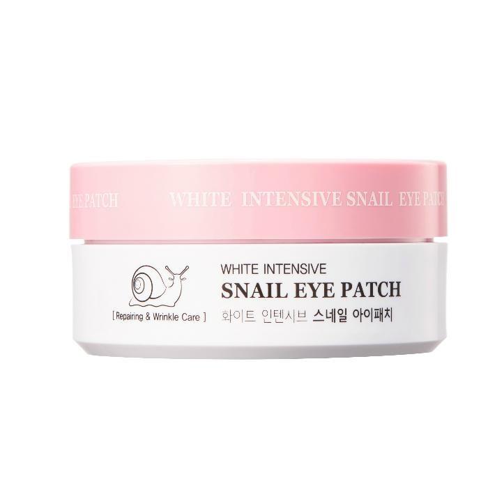 Купить Косметика для мамы, HanixHani Гидрогелевые патчи с муцином улитки White Intensive Snail Eye Patch