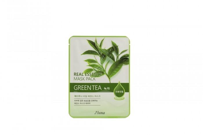 Фото - Косметика для мамы Jluna Тканевая маска с зеленым чаем 25 мл soleaf тканевая маска выравнивающая для идеально гладкой кожи с папайей 25 мл