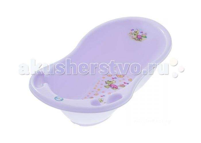 Детские ванночки Tega Baby Ванночка для купания Веселая черепаха 102 см haas