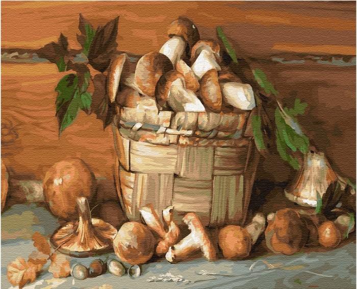Купить Картины по номерам, Molly Картина по номерам Деревенский натюрморт 50х40 см