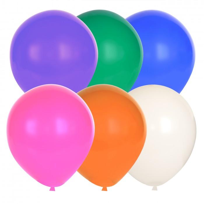 Детский дворик Воздушные шарики Стандартные микс 100 шт. шт SM2-12-100