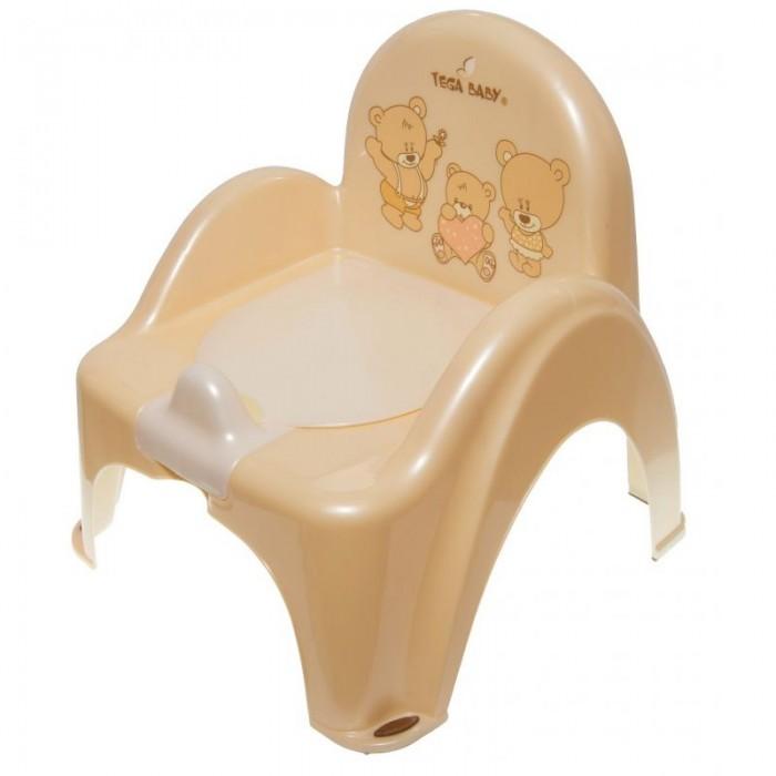 Горшок Tega Baby стульчик Мишка