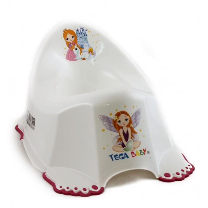 Горшок Tega Baby антискользящий Маленькая принцесса