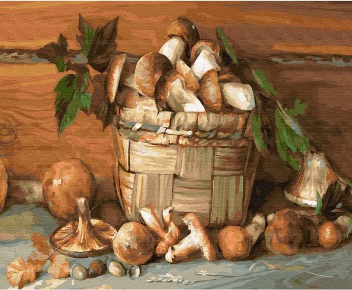 Купить Картины по номерам, Molly Картина по номерам на дереве Деревенский натюрморт 50х40 см