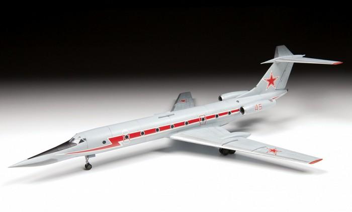 Звезда Сборная модель Учебно-тренировочный самолёт ТУ-134УБЛ