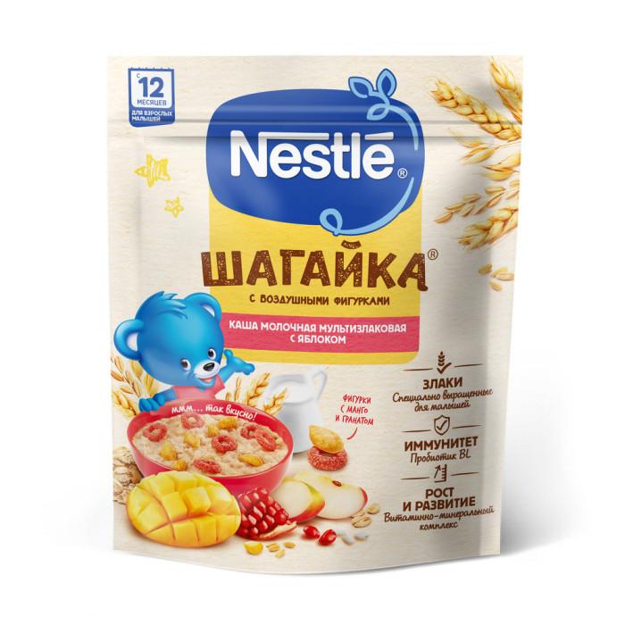 Каши Nestle Каша Шагайка молочная с яблоком и фигурками гранатом манго 12 мес. 190 г