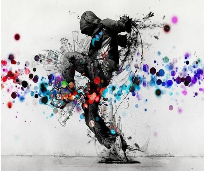 Купить Картины по номерам, Котеин Картина по номерам Танцор Hip-Hop 30х30 см