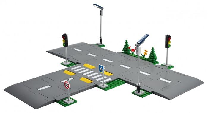 Конструктор Lego City Дорожные пластины