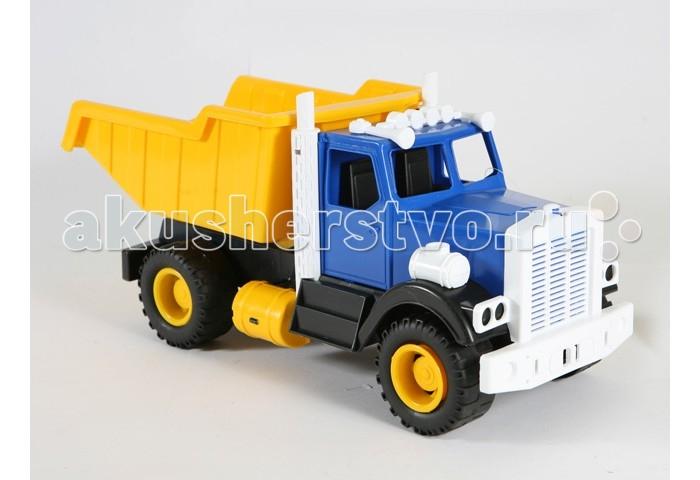 Машины Лена Самосвал Карьерный 57005/05250 игрушка welly модель машины карьерный самосвал 99612 page 1