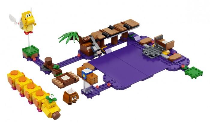 Lego Lego Super Mario Дополнительный набор Ядовитое болото егозы