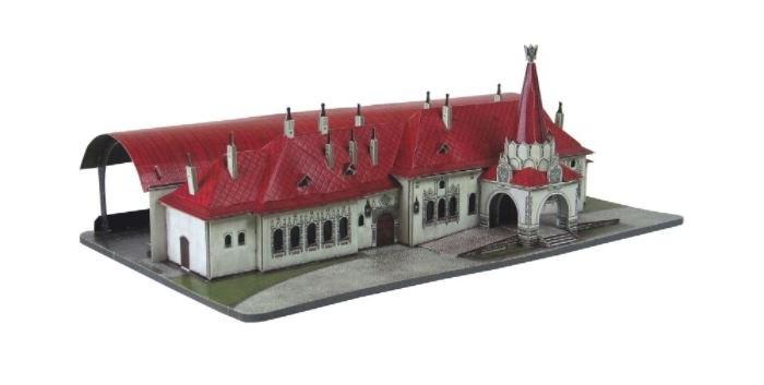 Умная бумага Сборная модель из картона Императорский павильон