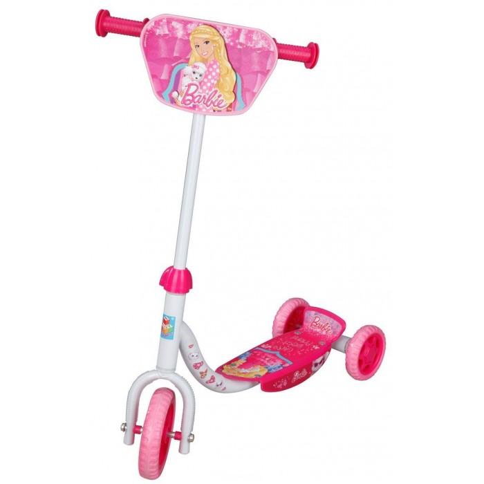 Трехколесные самокаты 1 Toy Barbie T56921 barbie детский складной самокат barbie двухколесный
