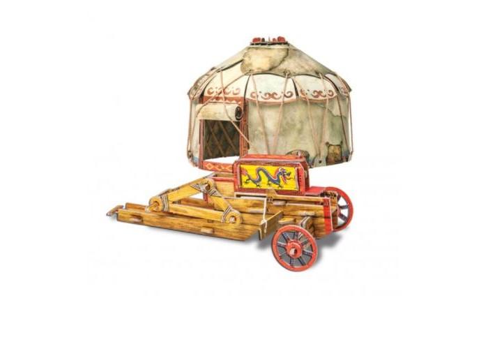 Умная бумага Сборная игрушка из картона Осадный лагерь кочевников