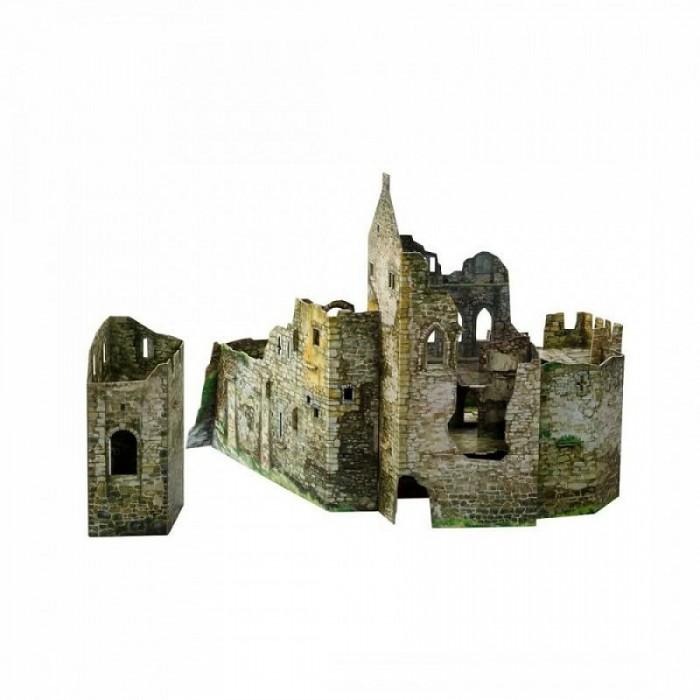 Умная бумага Сборная модель из картона Городские руины