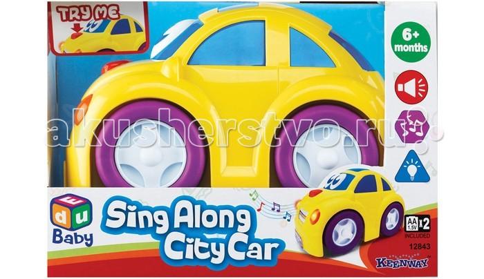 Машины Keenway Веселая машинка 12843 машинки keenway машинка веселая ферма звук