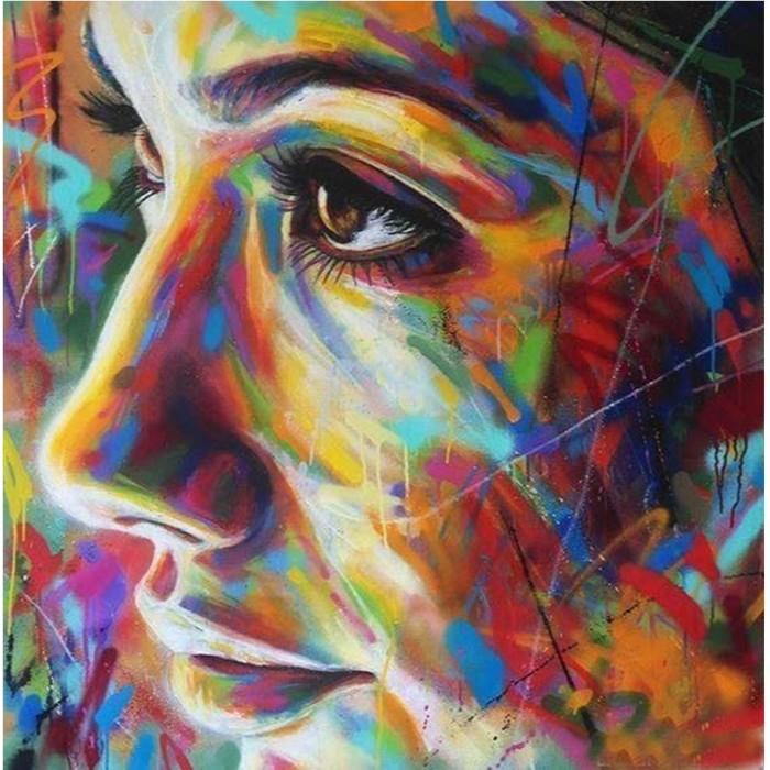 Картины по номерам Котеин Картина по номерам В стиле граффити 30х30 см мозаика котеин маркетри картина на дереве лорд пес 20x20