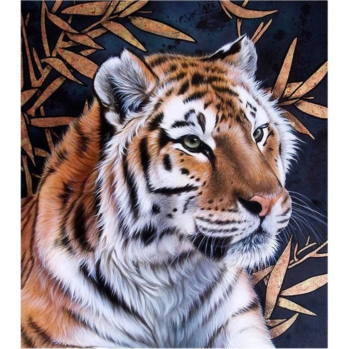 Картины по номерам Котеин Картина по номерам Тигр 30х30 см мозаика котеин маркетри картина на дереве лорд пес 20x20