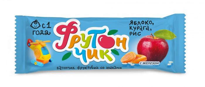 Печенье Фрутончик Батончик фруктовый со злаками Яблоко, курага, рис 20 г