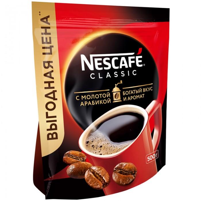 Nescafe Кофе растворимый с молотым Classic 500 г
