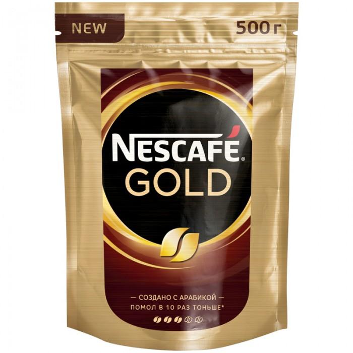 Nescafe Кофе растворимый с молотым Gold тонкий помол 500 г
