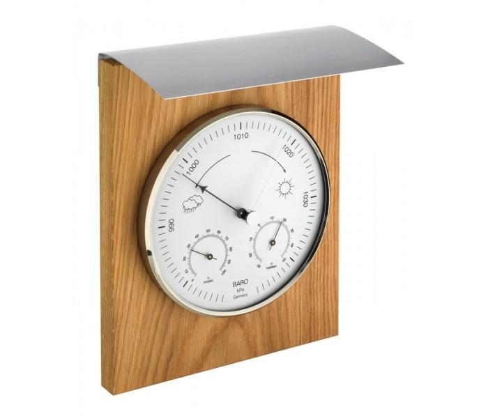 Товары для дачи и сада TFA Аналоговая метеостанция TFA 20.1079.01, деревянная