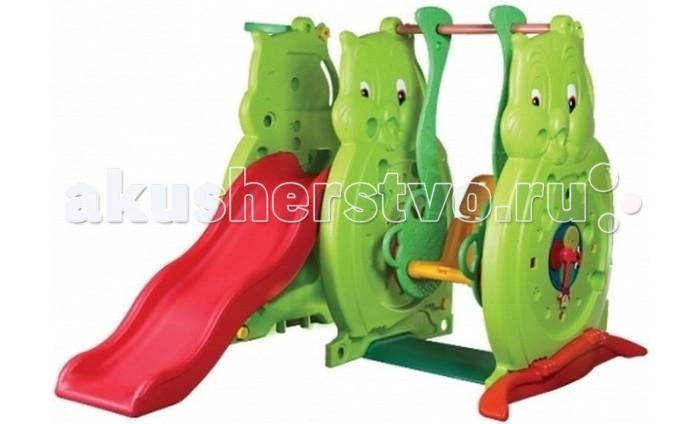 Летние товары , Игровые комплексы BabyOne Игровой комплекс Ching-Ching Сова SL-05S арт: 110224 -  Игровые комплексы