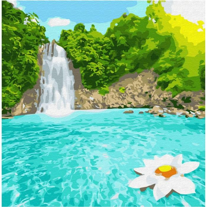 Купить Картины по номерам, Molly Картина по номерам Райский уголок 30х30 см