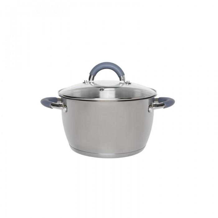 Купить Посуда и инвентарь, Hitt Кастрюля Speise со стеклянной крышкой 4.8 л (H07214/1)