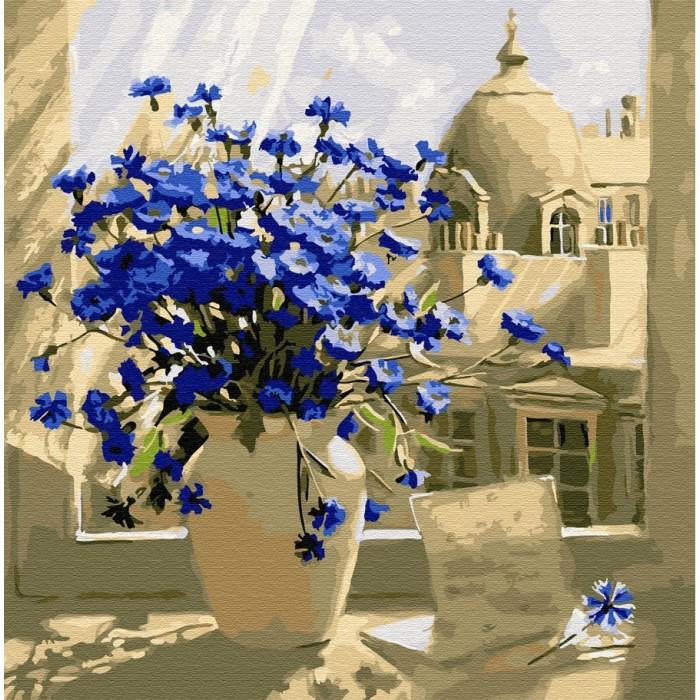 Картины по номерам Molly Картина по номерам Вид из окна 30х30 см
