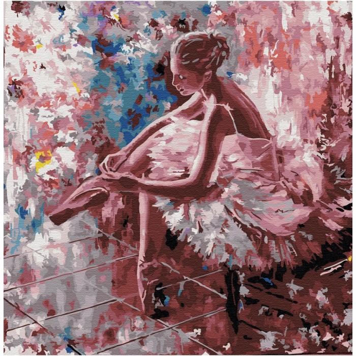Картины по номерам Molly Картина по номерам Минуты перед выступлением 30х30 см