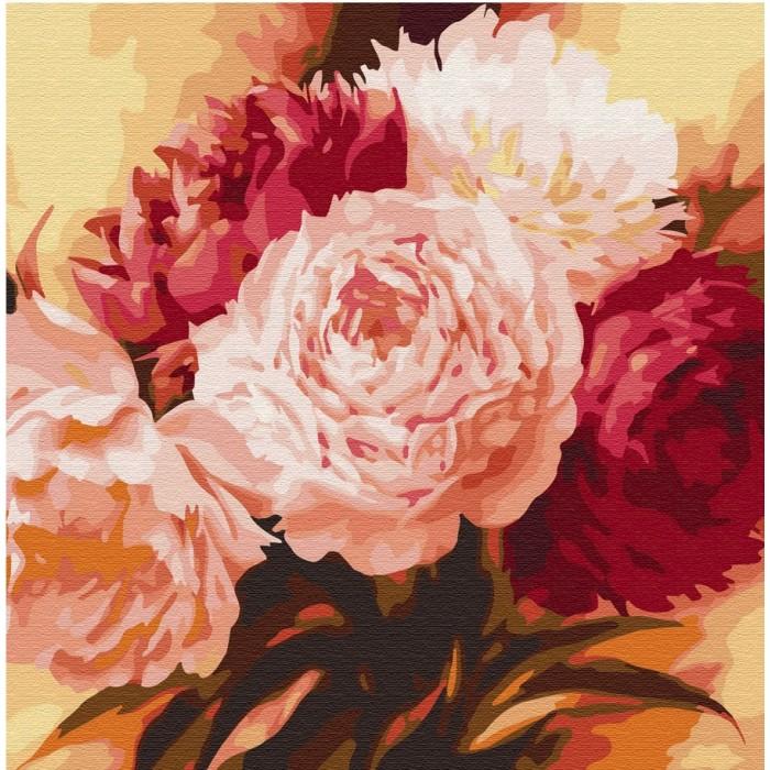 Купить Картины по номерам, Molly Картина по номерам Оттенки розового 30х30 см