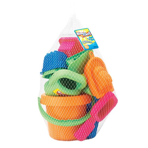 Keenway Набор из 16 игрушек для песочницы 30312