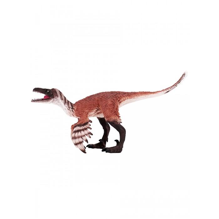 Mojo Animal Planet Фигурка Троодон с артикулируемой челюстью Deluxe I 387389