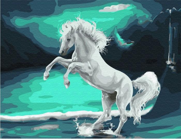 Купить Картины по номерам, Molly Картина по номерам с цветной схемой на холсте Фэнтези 40х30 см
