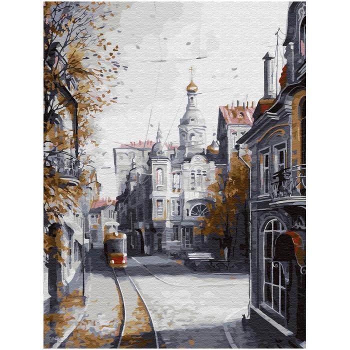 Купить Картины по номерам, Molly Картина по номерам с цветной схемой на холсте Ушедшая Москва 40х30 см