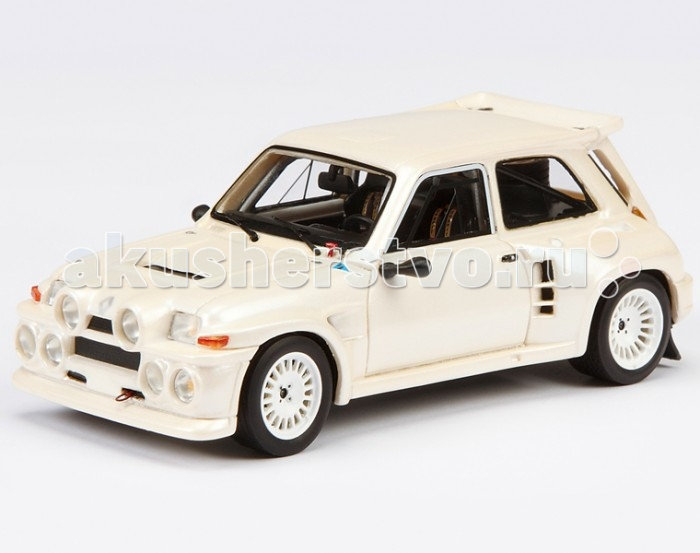 Машины Schuco Автомобиль Renault R5 Turbo, белый 1:43