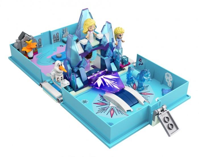 Lego Lego Princess Книга сказочных приключений Эльзы и Нока конструктор lego disney princess 43176 книга сказочных приключений ариэль