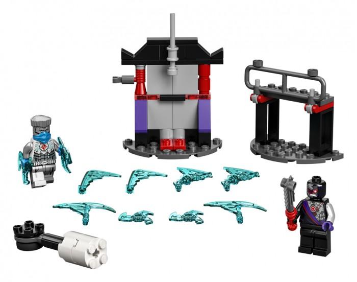 Фото - Lego Lego Ninjago Легендарные битвы: Зейн против Ниндроида конструктор lego ninjago бронированный носорог зейна