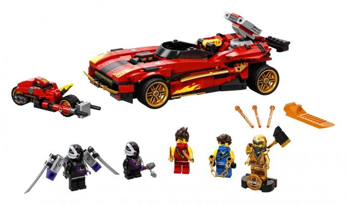 Конструктор Lego Ninjago Ниндзя-перехватчик Х-1